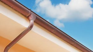 copper gutters