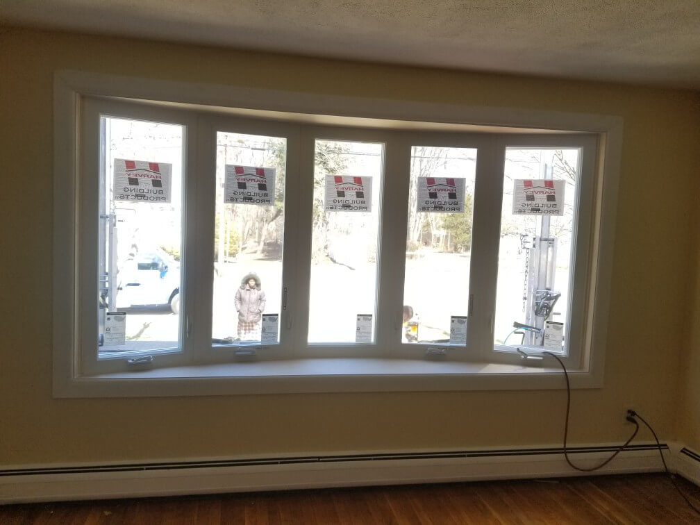 Replacement Window Job In Randolph Ma Marios Roofing